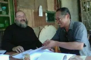 Fr Silouan and John