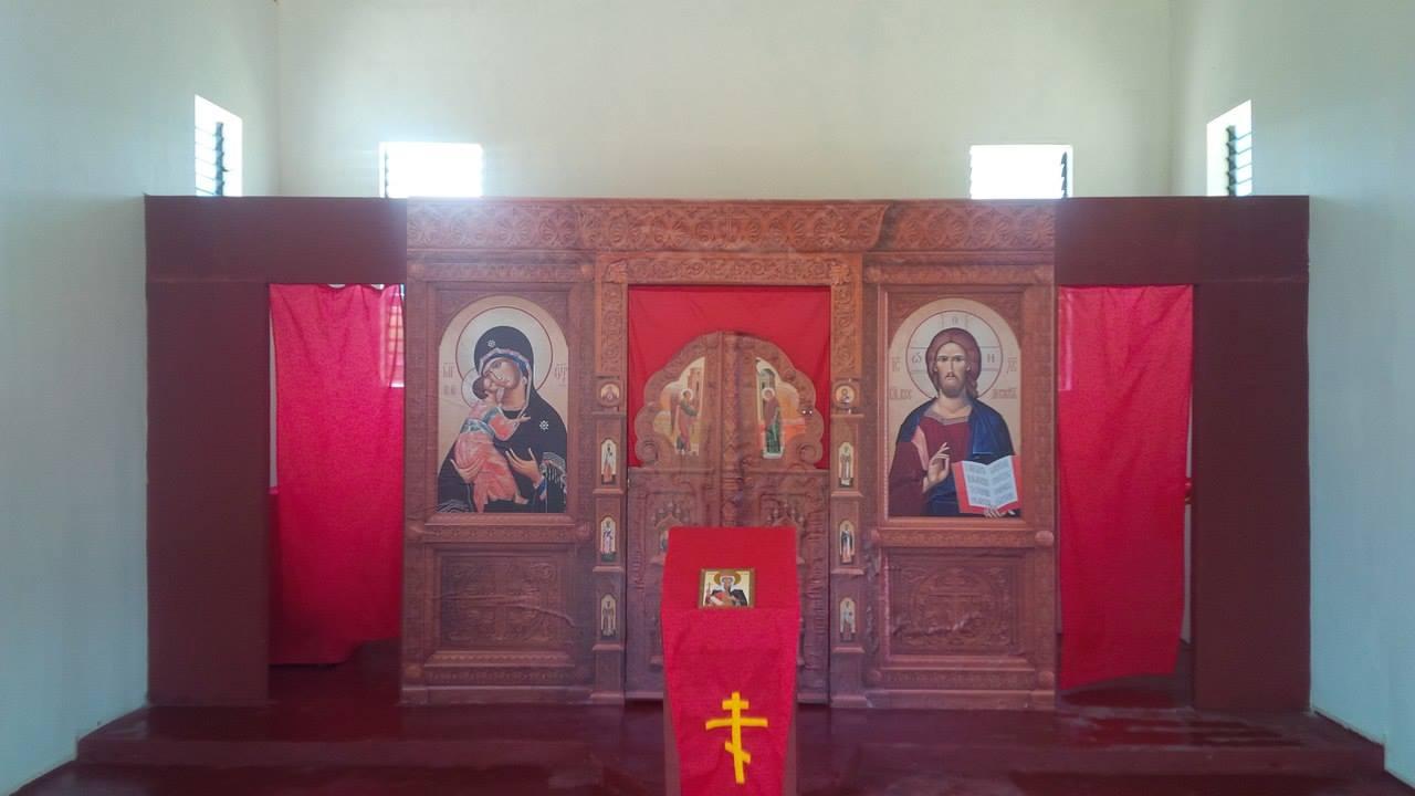 Church of St Elena Iconostas