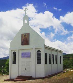 Church of St Elena outside