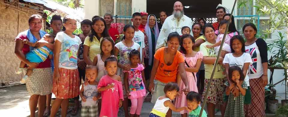 Baptisms and Divine Liturgy at Polomolok