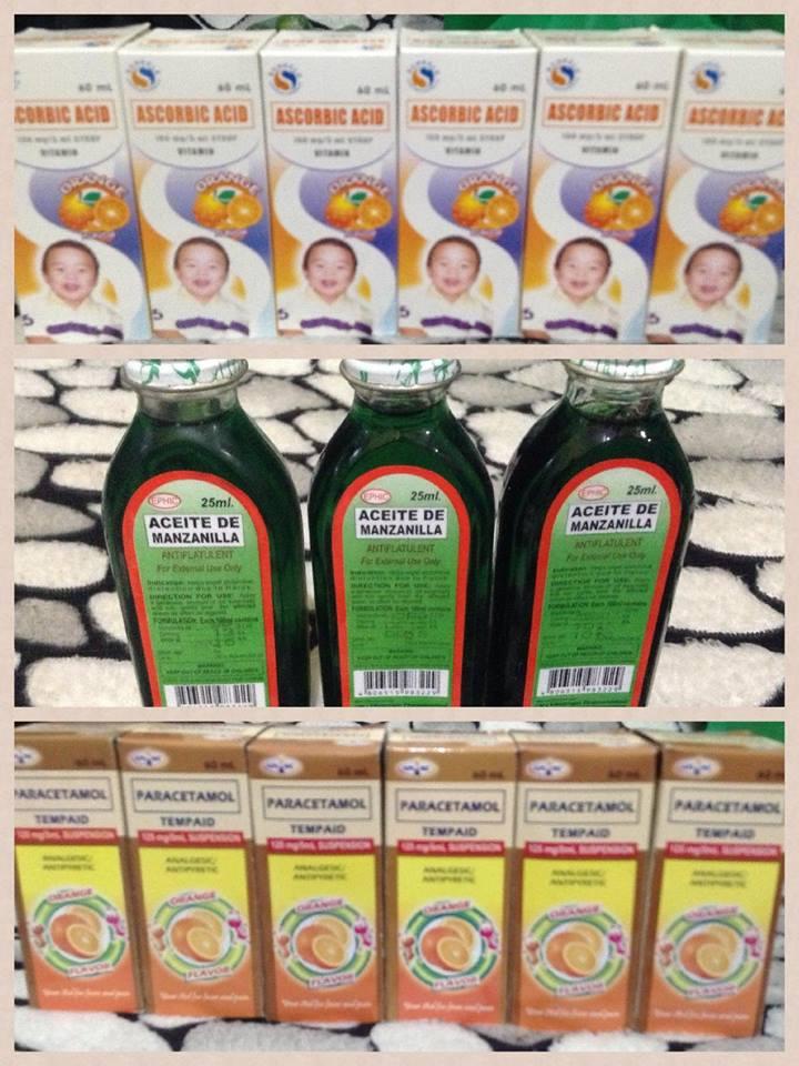 Vitamins for the children