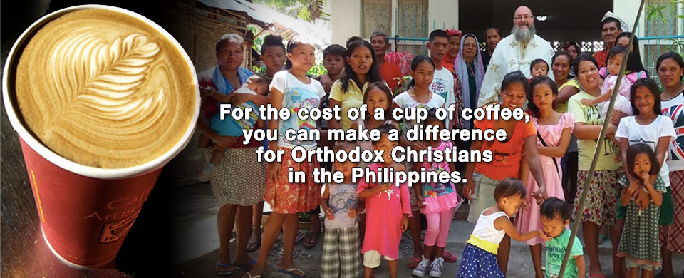 For the cost of a cup of coffee...