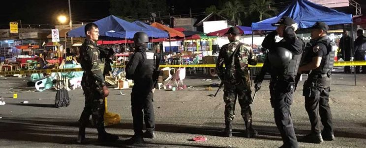 Davao night market bombing