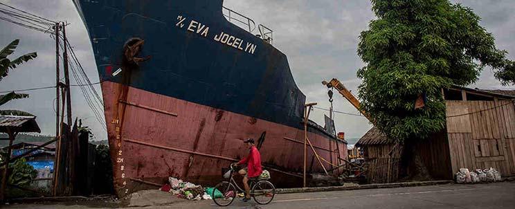 Tacloban one year after Typhoon Yolanda