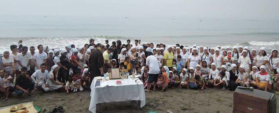 Baptisms at Kiamba