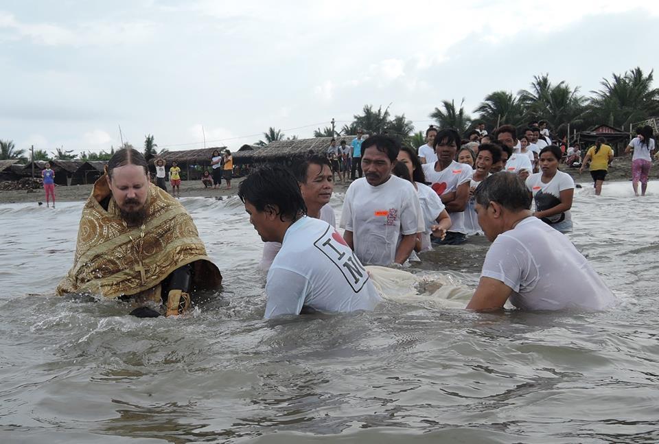 Baptism at Ladol