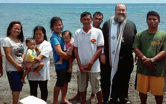 Lazarus Saturday Baptisms