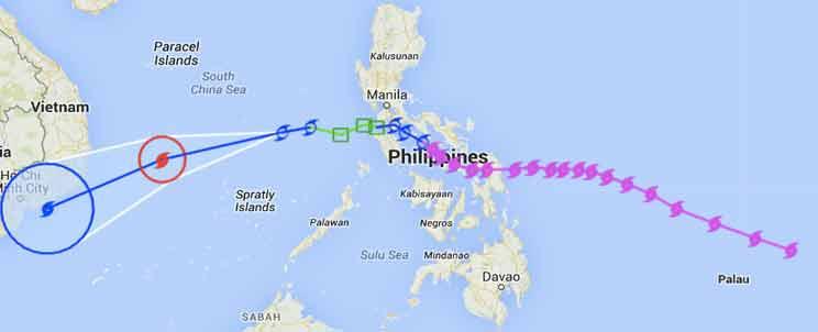 Typhoon Ruby Update